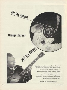 GBLC 1952 Gibson Print Ad